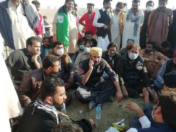 PDM angry workers storm into Multan's Qila Kohna Qasim Bagh