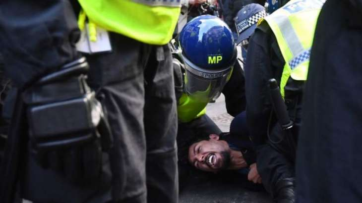 Over 60 Participants of Anti-Lockdown Protest Detained in UK Capital - London Police