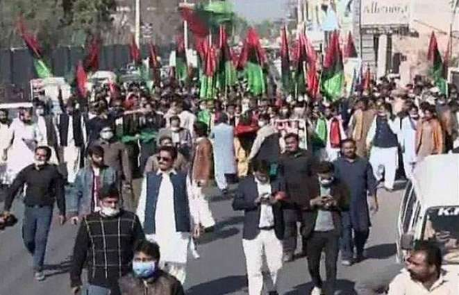 PDM to hold public rally today in Multan