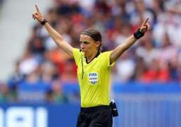French Football Referee Frappart to Become 1st Woman to Work on UCL Match - Union