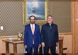 رئيس تتارستان يستقبل رئيس المجلس العالمي للمجتمعات المسلمة