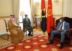 رئيس جمهورية أنغولا يستقبل وزير الدولة لشؤون الدول الأفريقية