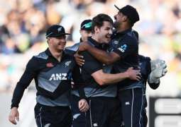 New Zealand won first T20I by five wickets against Pakistan