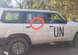 Investigation over attack on UN vehicle near LoC is underway