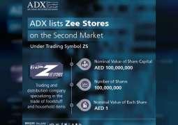 Abu Dhabi Securities Exchange lists Zee Stores on its Second Market