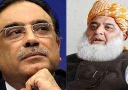 Asif Ali Zardari invites JUI-F Chief to Gharhi Khuda Bakhsh rally