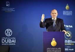 Football is beacon of hope and peace, says FIFA chief at Dubai International Sports Conference