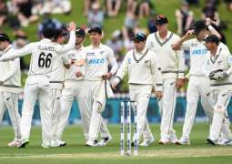 New Zealand defeats Pakistan, takes 1-0 lead in two-match Test series