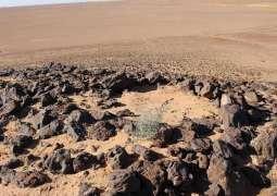 هيئة التراث تعثر على فؤوس حجرية في