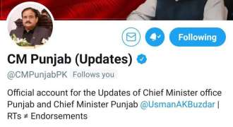Digital Media Wing gets Government of Punjab, Ministries and Cabinet members official accountsverified to strengthen online presence