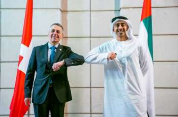 Abdullah bin Zayed, Swiss FM review consolidating cooperation