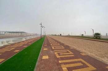 أمطار على محافظة حفرالباطن