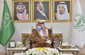 سمو أمير نجران يستقبل قائد قوة أمن المنشآت بالمنطقة