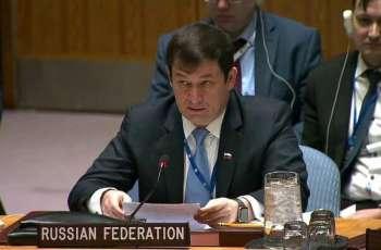 Russia's UN Official Dmitry Polyanskiy Says Berlin, Paris Opposed Online Webcast of UNSC Meeting on Ukraine