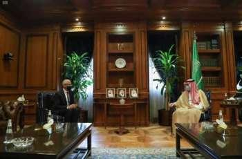 وزير الدولة للشؤون الخارجية يستقبل سفير أستراليا لدى المملكة