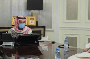 سمو وزير الخارجية يعقد لقاءً عبر الاتصال المرئي مع وزيرة خارجية كوسوفو