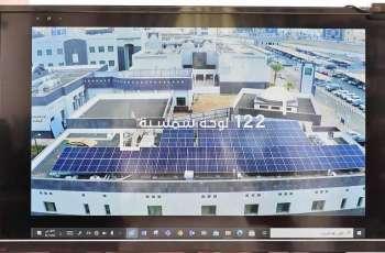سمو أمير جازان يدشن المرحلة الأولى من نظام الطاقة الشمسية البديلة بالإمارة