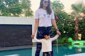 Sania Mirza shares adorable picture with son Izhaan Mirza Malik