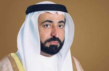 حاكم الشارقة يعزي خادم الحرمين الشريفين في وفاة الأميرة حصة بنت فيصل