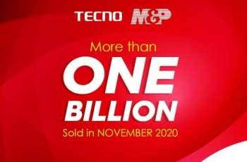 TECNO And M&P Celebrate 1 Billion Sales Record