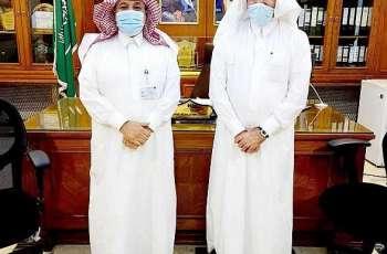 المهندس اللحيدان يزور فرع وزارة البيئة بمنطقة مكة المكرمة