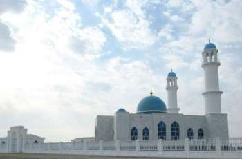 A new mosque was built in the township of Akina with the support of the Turkmen side