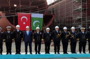 Pak Naval Chief visits Turkish Fleet Headquarters in Golcuk