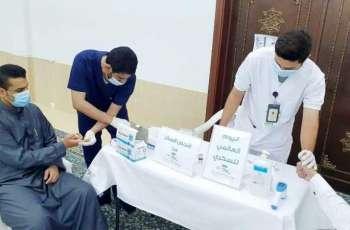 صحة حفر الباطن تنظم فعالية توعوية وتثقيفية عن داء السكري في المساجد