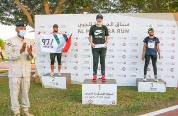 """المغربي أنور الغز يفوز بالمركز الإول في سباق """"المغيرة للجري"""" بالمرفأ"""