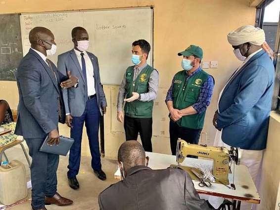 فريق مركز الملك سلمان للإغاثة يتفقد الاحتياجات الإنسانية للمتضررين في جمهورية جنوب السودان