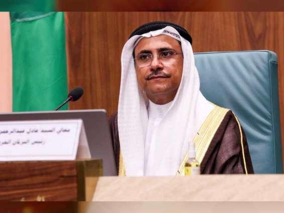 رئيس البرلمان العربي : الإمارات قدمت نموذجا في التميز والإبداع والتنمية