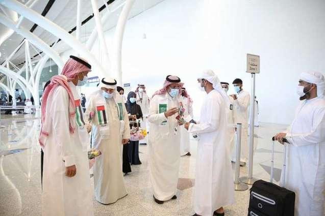 مطار الملك عبد العزيز بجدة يحتفل باليوم الوطني لدولة الإمارات