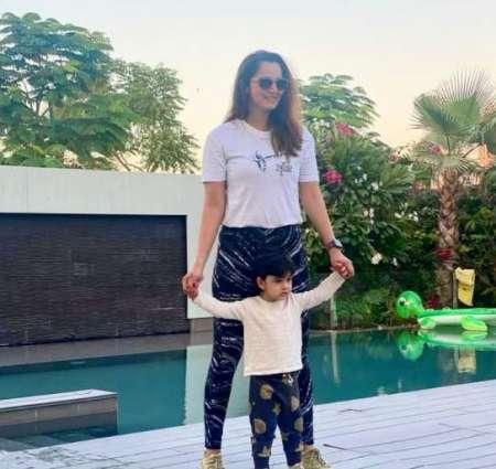 Sania Mirza shares adorable picture with son Izhaan Mirza Malik