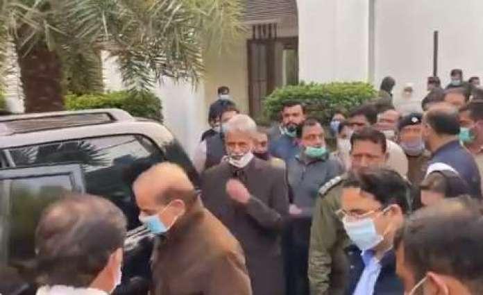 Shehbaz Sharif, Hamza Shehbaz shifted to jail as parole ends