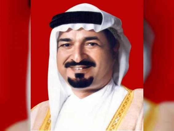 حاكم عجمان يعزي خادم الحرمين في وفاة الأميرة حصة بنت فيصل