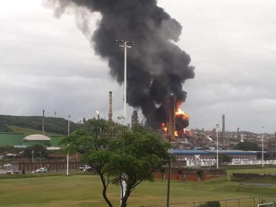Explosion Hit Engen Oil Refinery in South Africa's Durban - Reports