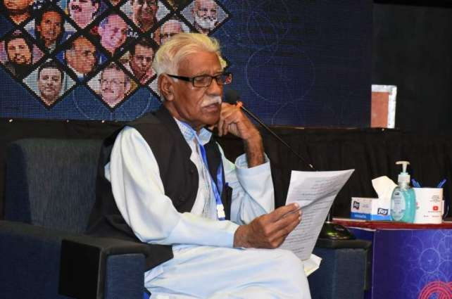 "The first meeting of the 13th International Urdu Conference organized by the Arts Council of Pakistan Karachi was held on the third day under the theme ""A Century of Urdu Fiction"" in which eminent writers discussed various topics related to fiction"
