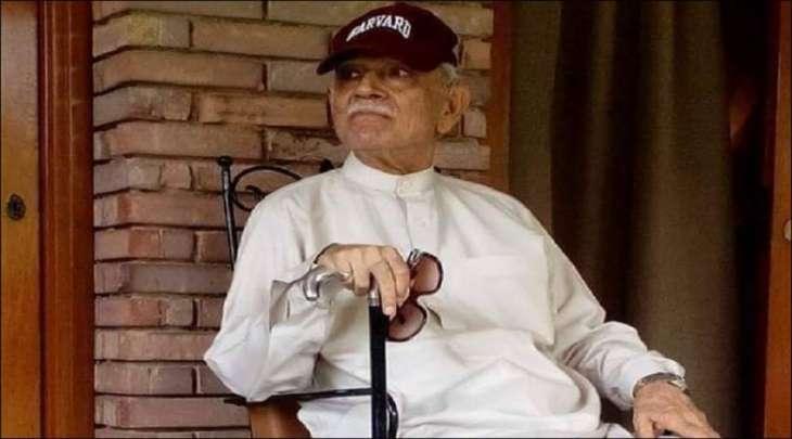 وفاة السیاسي الباکستاني الشھیر شیرباز خان مزاري عن عمر ناھز 90 عاما