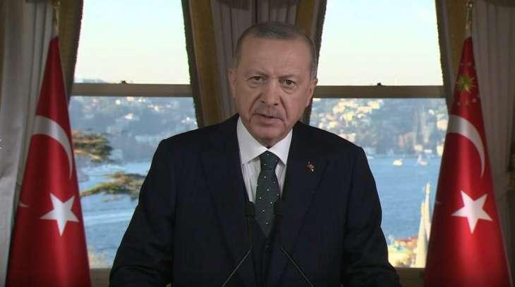 Erdogan Condemns 'Racist Statements' in Soccer Match Between French, Turkish Clubs