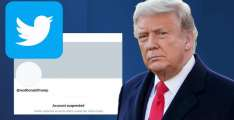 Twitter Shares Down 8.3% After Trump Ban
