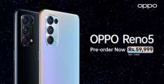 OPPO Launches the Reno5 with Industry-Firsts AI Mixed Portrait, Dual-View Video and AI Highlight Video on a Starry Night featuring Superstar Sheheryar Munawar