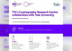 TII's Cryptography Research Centre in Abu Dhabi collaborates with Yale University