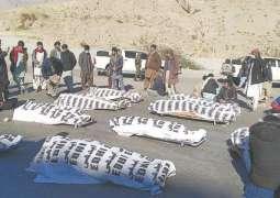 Miners' murder in Mach: Hazara people, govt reach consensus to end sit-in
