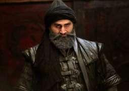 الممثل الترکي جلال آل الذي لعب دور عبدالرحمن فی مسلسل قیامة أرطغرل یزور باکستان