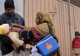 Five-day national polio immunization drive  begins today across the country