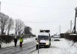 Road Traffic in Eastern France Restored After Major Disruptions Due to Snowfall