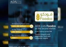 Abu Dhabi Securities Exchange lists Foodco on Second Market