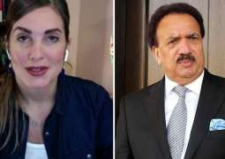 Cynthia D. Ritchie, Rehman Malik end legal fight against each other