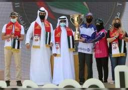شيرينا الفلاسي تحلق بلقب سباق السيدات في مهرجان محمد بن زايد للقدرة