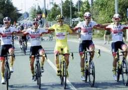 الدراج تادي بوجاتشار: الفوز بلقب جولة فرنسا يدعم طموحاتي للتتويج في طواف الإمارات
